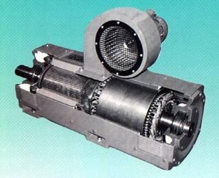 Stromrichtermotor